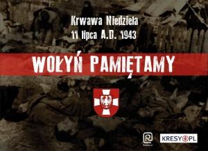 70 rocznica Rzezi Wołyńskiej w Opolu 11-07-2013