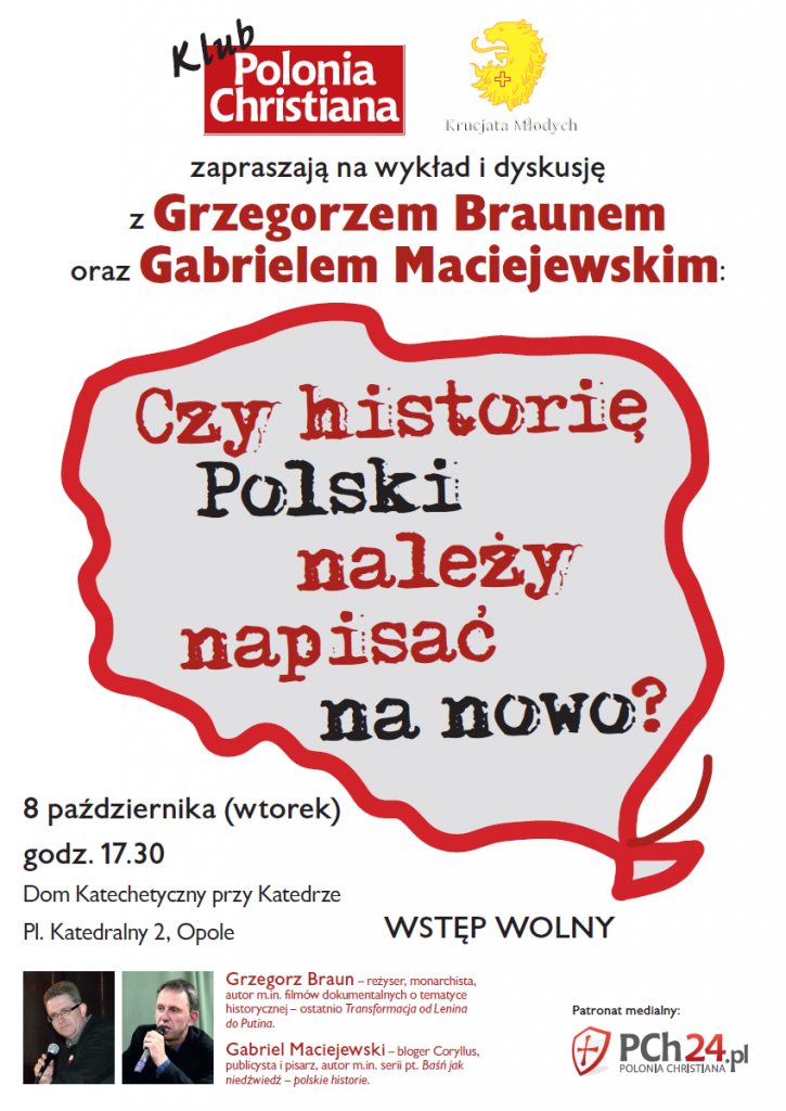 Grzegorz Braun w Opolu 08-10-2013
