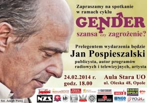Jan Pospieszalski w Opolu 24-02-2014