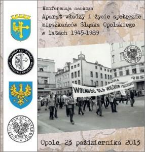Konferencja IPN w Opolu 23-10-2013