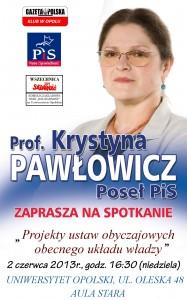 Krystyna Pawłowicz w Opolu 02-06-2013