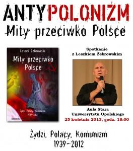 Leszek Żebrowski w Opolu 25-04-2013