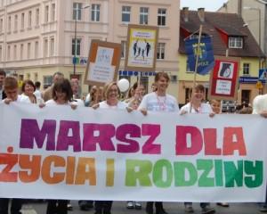 Marsz dla Życia i Rodziny w Opolu 26-05-2013