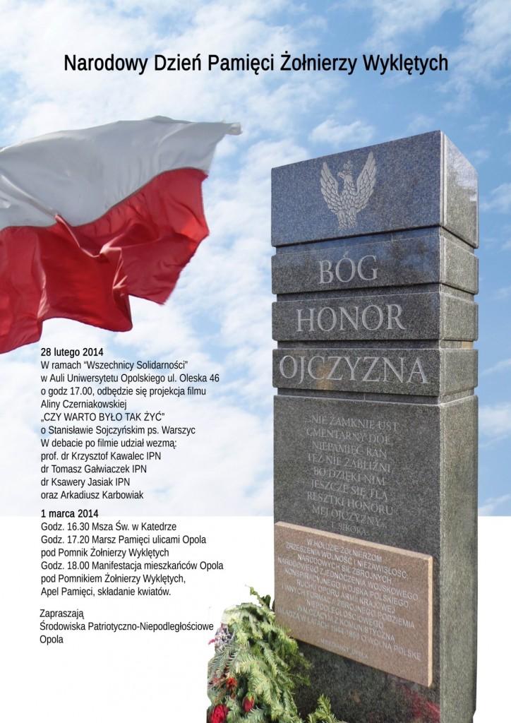 """Pokaz filmu """"Czy warto było tak żyć"""" w Opolu 28-02-2014"""