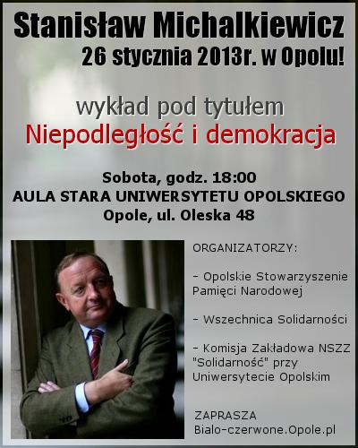 Stanisław Michalkiewicz 26-01-2013