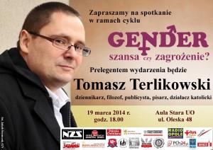 Tomasz Terlikowski w Opolu 19-03-2014