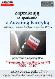 Zuzanna Kurtyka w Opolu 10-09-2013