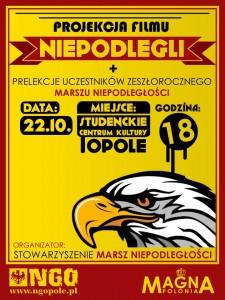"""22-10-2012 """"Niepodlegli"""" w Opolu"""